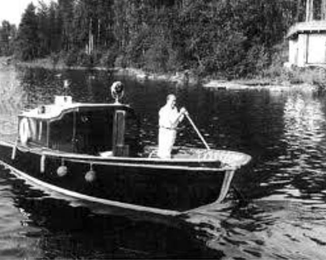 Aalto en plena travesía.