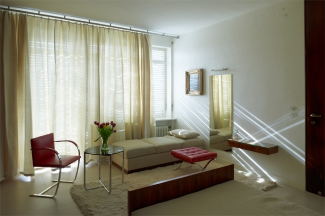 Dormitorio de Grete.