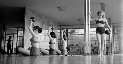 Escuela de danza 1950