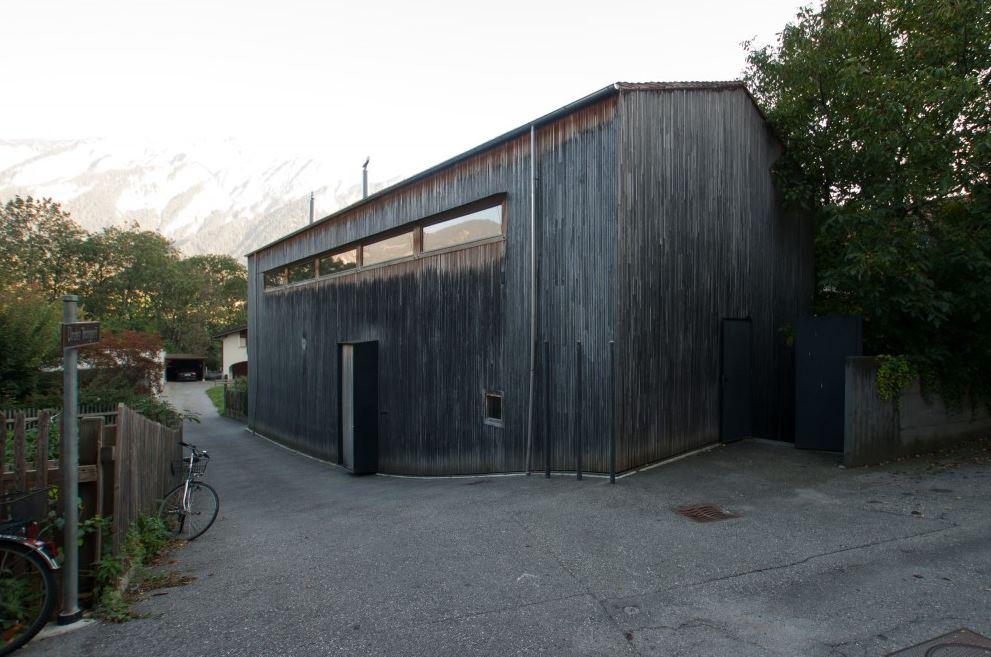 Zumthor Studio (Haldenstein)